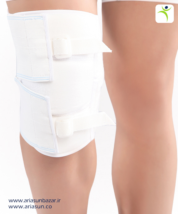 زانوبند-كشكك-بسته-Adjustable-Knee-Support-Closed-Patella-