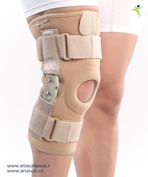 زانو-بند-نئوپرنی-مفصل-دار-Neoprene-Hinged-Knee-Brace-