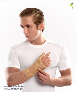 مچ-شست-بند-آتل-د-ار-(چپ-و-راست)-Wrist-Thumb-Splint-with-Hard-Bar-