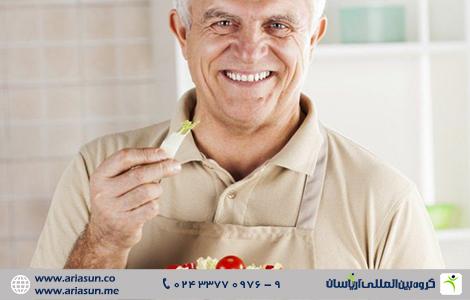 مواد غذایی مفید برای افراد بالای 50 سال