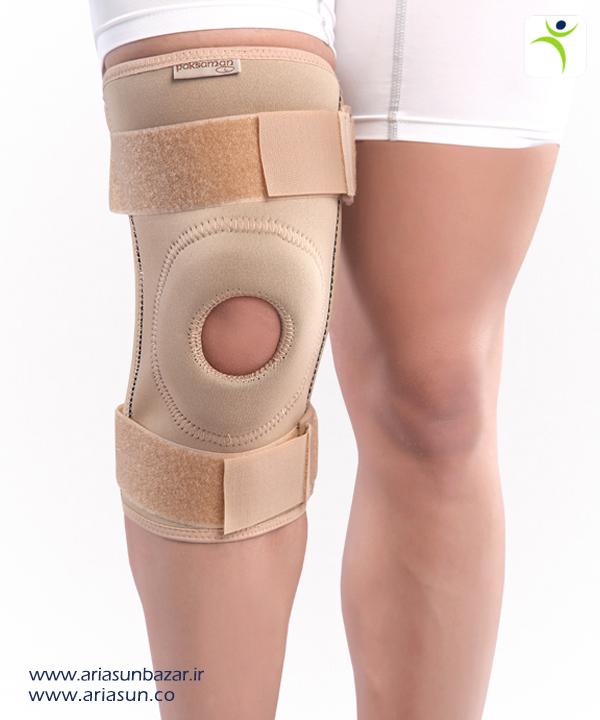 زانوبند-نئوپرنی-چهار-فنره-Neoprene-Knee-Support-with-Springs-