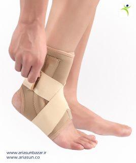 قوزك-بند-نئوپرنی-آتل-دار-Neoprene-Ankle-Support-with-Spring-