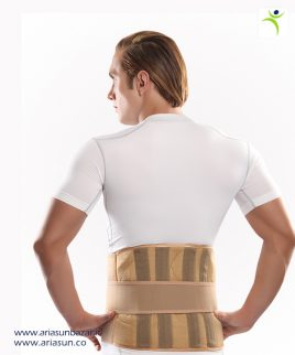 كمربند-طبی-سخت-نئوپرنی-Neoprene-Lumborsacral-Corset-with-Hard-Bar-