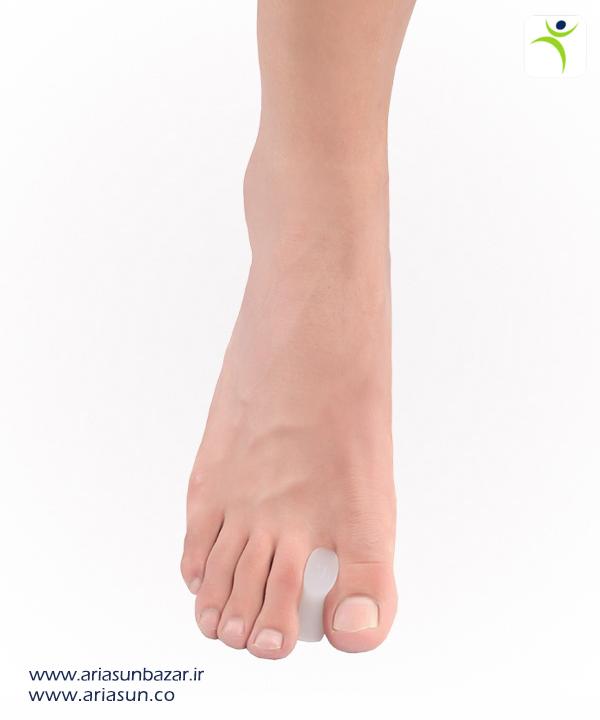 لا-انگشتی-سيليكونی-Silicone-Toe-Separator-