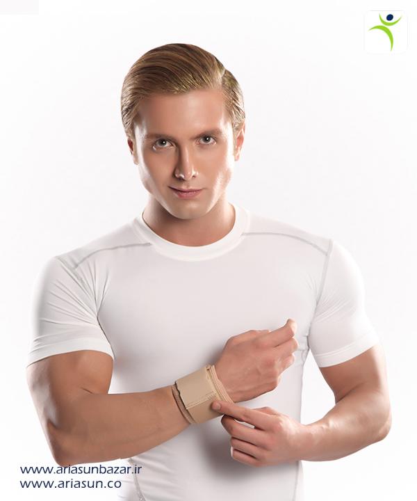 مچ-بند-نئوپرنی-با-استرپ-Neoprene-Wrist-Support