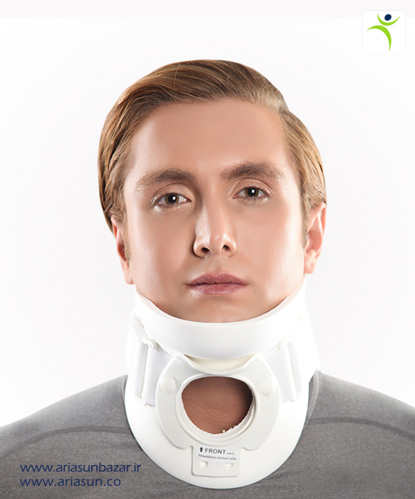 گردنبند-فيلادلفيا-نای-باز-Tracheotomy-Philadelphia-Cervical-Collars-